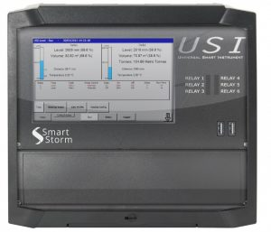 USI flow and water quality meter